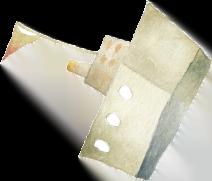 La barchetta raffigurata sull'etichetta di Affondo, il vino bianco frizzante con fondo di Cantina Barchessa Loredan.